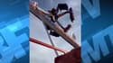 Capture d'écran du manège Fire Ball dans un parc d'attractions à Colombus dans l'Ohio (Etats-Unis).