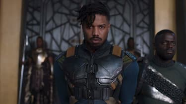 Michael B. Jordan dans Black Panther