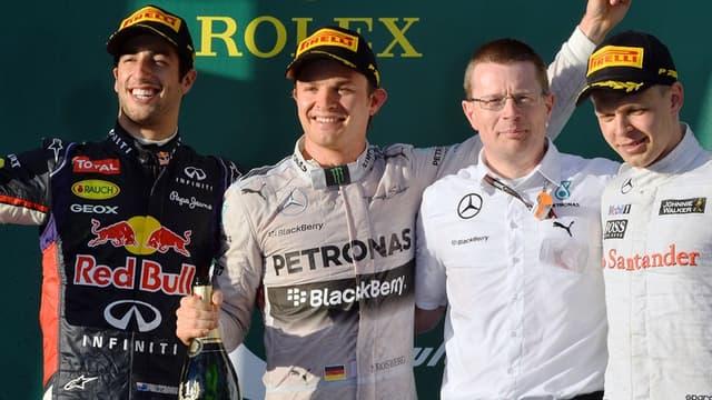 Daniel Ricciardo finalement éjecté du podium ?