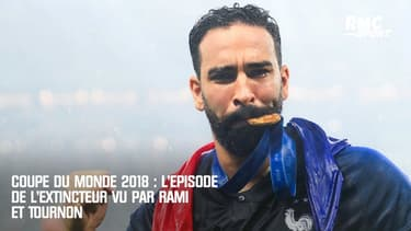 Coupe du monde 2018 : L'épisode de l'extincteur vu par Rami et Tournon