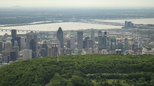Vue de Montréal - Image d'illustration