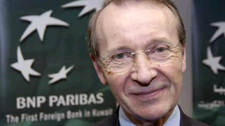 """Michel Pébereau veut """"tirer les leçons de cette crise financière au niveau de la régulation"""""""