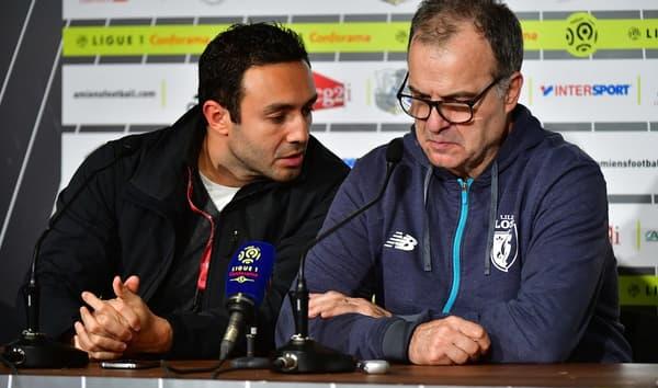 Salim Lamrani et Marcelo Bielsa à Lille en 2017