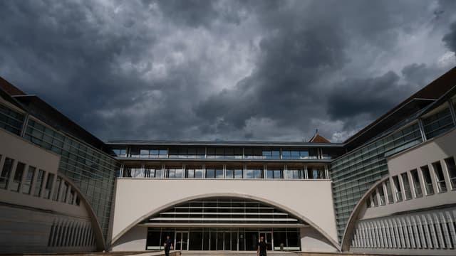 Le tribunal de Besançon.
