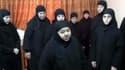 Les religieuses de Maaloula, après leur libération le 10 février 2014.