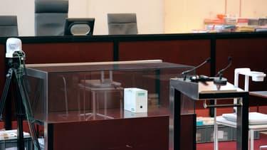 Vue du tribunal de Pontoise.