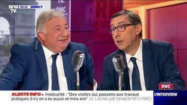 Gérard Larcher sera candidat à sa succession à la présidence du Sénat