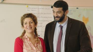 Baya Kasmi et Ramzy dans La Lutte des classes