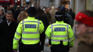 La priorité de la police londonienne est d'identifier les deux corps.(Photo d'illustration)
