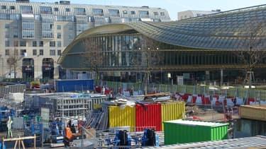 Les travaux du Forum des Halles ont duré de 2010 à 2014