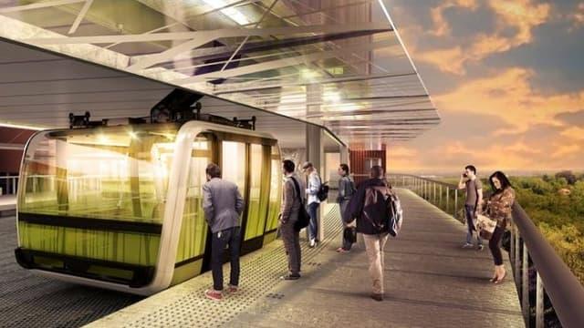 À Toulouse, c'est le projet d'un groupement d'entreprises mené par Poma qui réalisera un téléphérique urbain, qui doit entrer en service début 2020.
