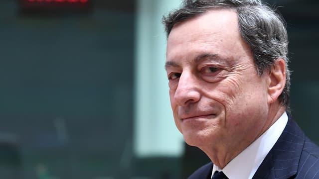 Le président de la Banque centrale européenne, l'Italien Mario Draghi.