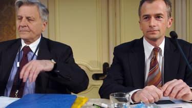 Philippe Martin, à droite, en 2008.