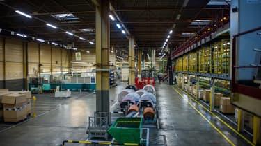 De nombreuses usines françaises, comme ici celle de Michelin, sont actuellement à l'arrêt.