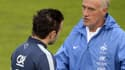 Didier Deschamps et Mathieu Valbuena