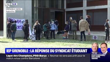 """Sciences Po Grenoble: l'Union syndicale dénonce une """"récupération politique"""""""