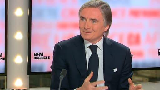 Jean-Yves Charlier, le patron de SFR, était l'invité de BFM Business ce mardi 3 juin.