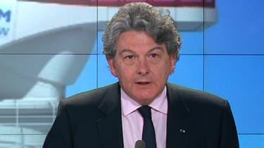 """Thierry Breton était l'invité des """"Décodeurs de l'éco"""", sur BFM Business."""