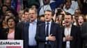 Emmanuel Macron et Richard Ferrand (à sa droite), le 10 décembre 2016, à Paris.