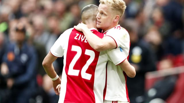 Hakim Ziyech et Donny van de Beek - Ajax