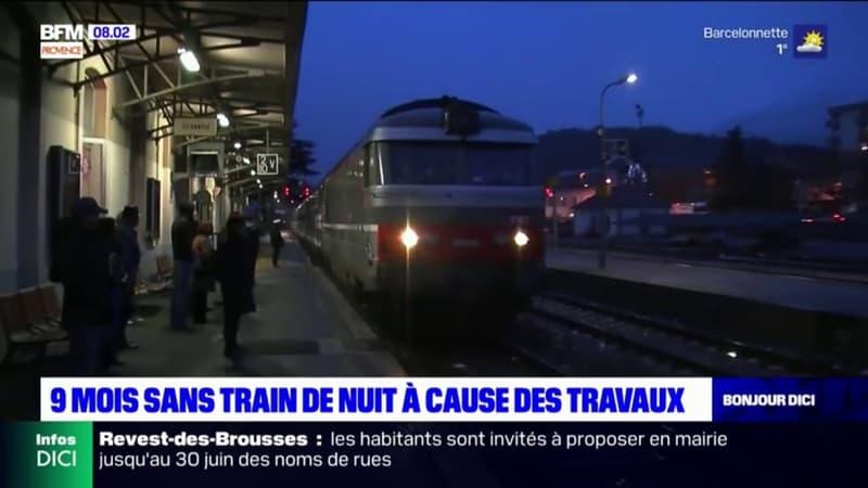Paris-Briançon: 9 mois sans train de nuit pour cause de travaux