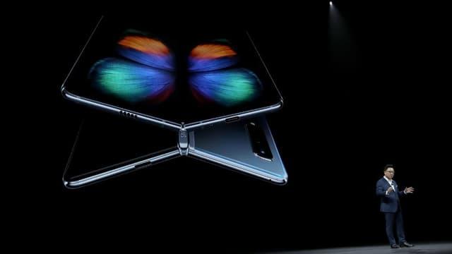 Le Samsung Galaxy Fold.