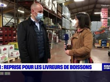 Lyon: les grossistes en boissons reprennent du service