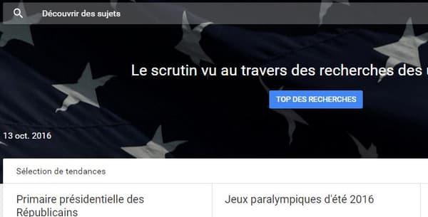 Le candidat à la primaire de droite et du centre, Jean-Frédéric Poisson, arrive en première position des recherches Google, jeudi 13 octobre 2016.