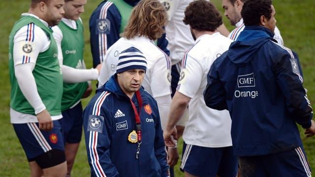 Philippe Saint-André et son groupe
