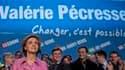 Valérie Pécresse, tête de liste de l'UMP dans la région Île-de-France. Nettement devancé dimanche par le PS, le parti majoritaire appelle à la mobilisation générale pour le second tour des élections régionales avec comme mot d'ordre que tout est encore po