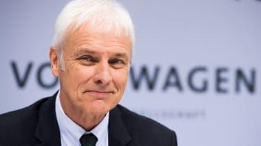 """Matthias Müller pense que VW est """"sur la bonne voie, celle du progrès"""""""