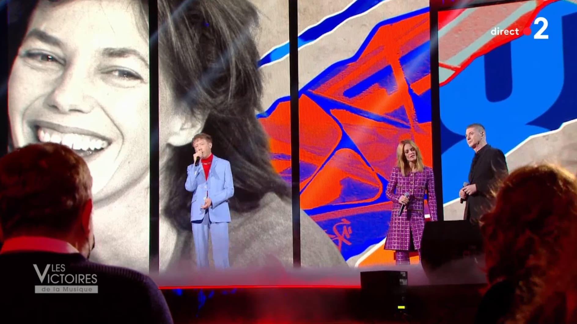 Victoires de la musique: l'émouvant hommage à Jane Birkin - BFMTV