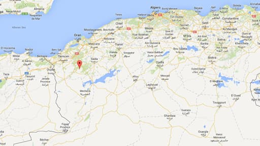 C'est à Sidi Chaïb, à l'ouest de l'Algérie, qu'a eu lieu l'explosion.
