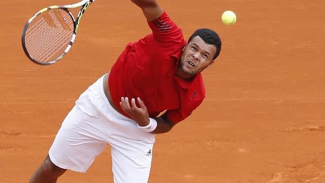 Jo-Wilfried Tsonga battu par Roger Federer en quarts de finale du tournoi de Monte-Carlo