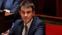 Manuel Valls ke 8 avril à l'Assemblée nationale, après son discours de politique générale.
