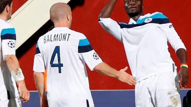 Florent Balmont et Moussa Sow