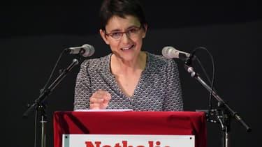 Nathalie Arthaud, candidate Lutte ouvrière à l'élection présidentielle