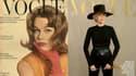 Jane Fonda dans Vogue en 1959 et en 2021