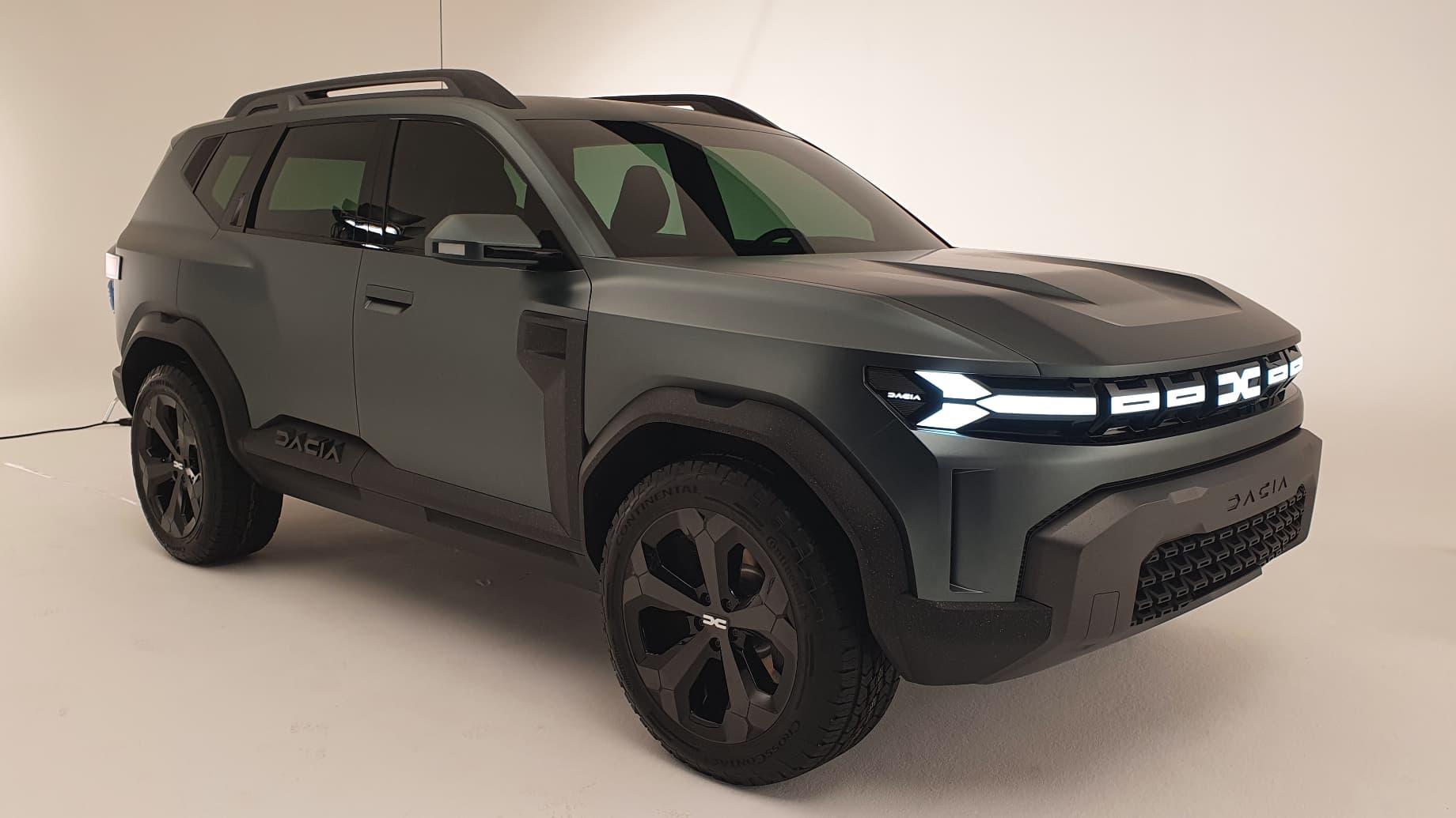 Concept Bigster: le SUV qui veut faire grandir Dacia - BFMTV