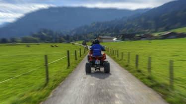 Le quad est avant tout un véhicule tout-terrain de loisir.