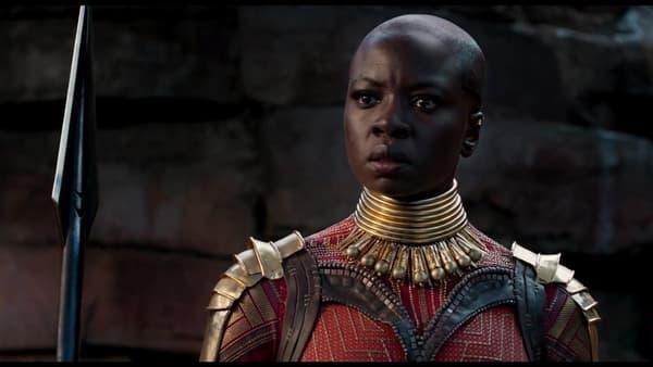 La générale Okoye dans Black Panther