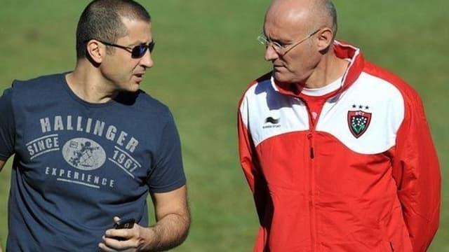 Mourad Boudjellal et Bernard Laporte