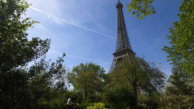 Paris sous le soleil le 18 avril 2018