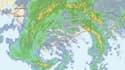 Vue satellitaire de la tempête Mindy, enregistrée par le centre américain des ouragans le mercredi 8 septembre.