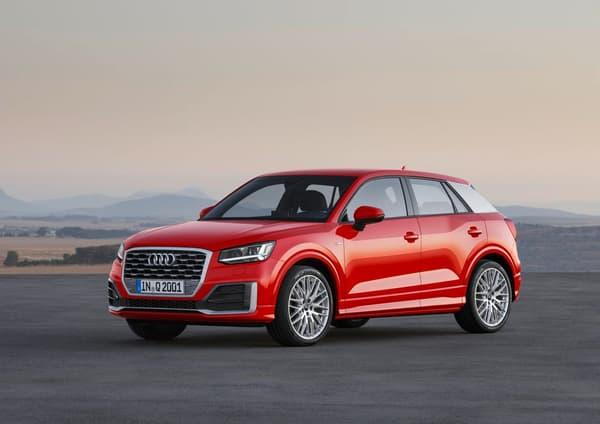 Révelé ce matin par Audi, le Q2 arrivera sur le marché avec six motorisations possibles.