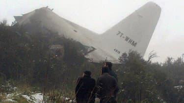 L'appareil s'est écrasé alors qu'il survolait le mont Fortas dans la wilaya d'Oum El Bouaghi