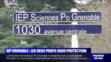 IEP Grenoble: les deux professeurs sont désormais sous protection