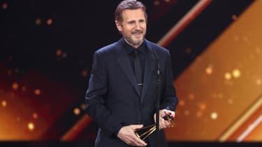 Liam Neeson en février 2018