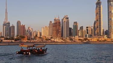Vue de Dubaï, un des sept Émirats qui composent les Émirats arabes unis.