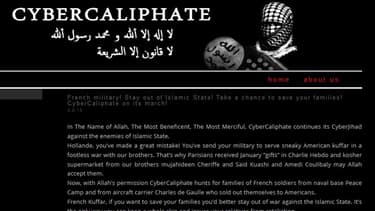 La revendication de l'attaque par le Cybercaliphate au nom de l'Etat islamique n'avait pas été jugée sérieuse